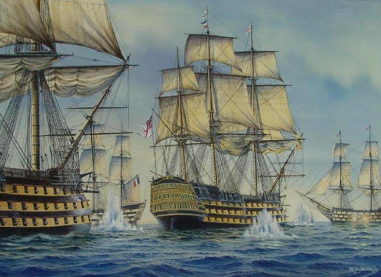 HMS Victory Painting